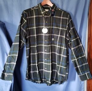 Long sleeve button up flannel NWT